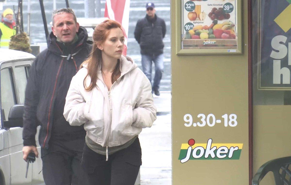 """Scarlett Johansson Fan » Blog Archive » Scarlett On """"Black"""